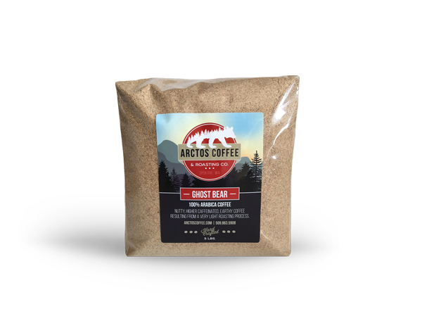 Arctos Coffee Ghost Bear White Coffee Blend